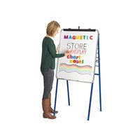Magnetic Store & Display Chart Easel
