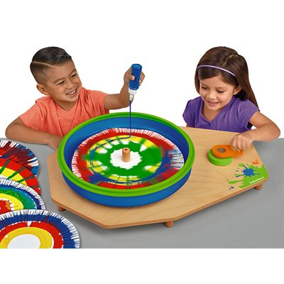 Giant Classroom Spin Art Centre