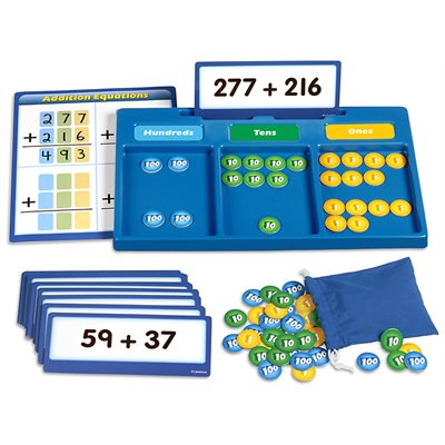 Hands-On Regrouping Kit- Addition