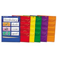 Learning Centre Pocket Charts - Set of 6