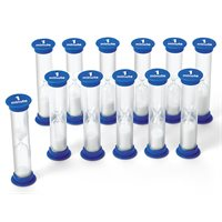 1-Minute Sand Timers- Set of 12