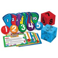 Let's Get Moving! Numbers & Counting Kit