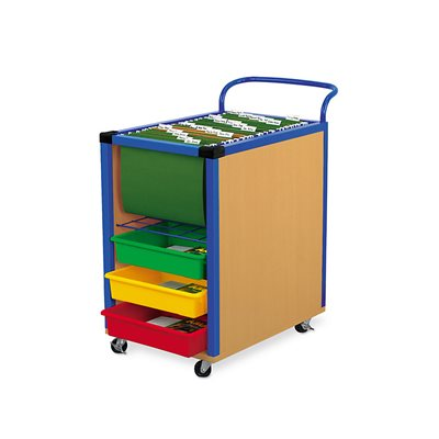 File And Store Mobile Cart