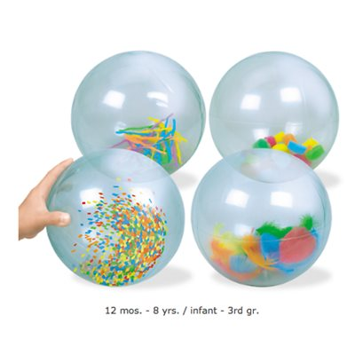 See-Inside Activity Balls - Set of 4