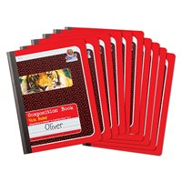 First Composition Book - Set of 10