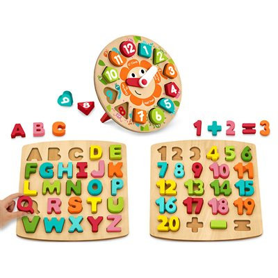 Chunky Learning Puzzles