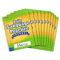 Daily Language Practice Journal-Gr.2-Set of 10