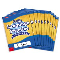 Daily Language Practice Journal-Gr.3-Set of 10