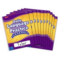 Daily Language Practice Journal-Gr.4-Set of 10
