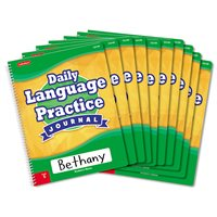Daily Language Practice Journal-Gr.5-Set of 10
