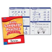 Daily Language Practice Journal-Kindergarten-Each