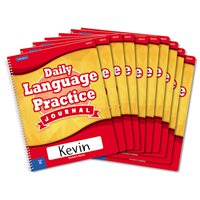 Daily Language Practice Journal-Kindergarten-Set of 10