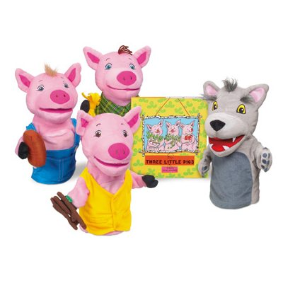 3 Little Pigs Storytelling Puppets