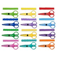 Crinkle-Cut Craft Scissors Only -12 Pairs