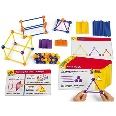 Build And Learn Geometry Kit