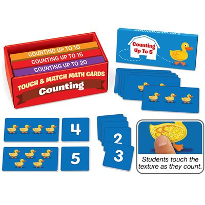 Touch & Match Counting Cards