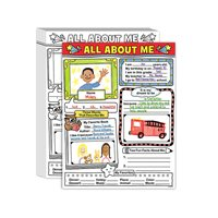 All About Me Writing Posters - Set of 30