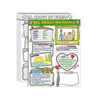 All About My Family Writing Posters - Set of 30