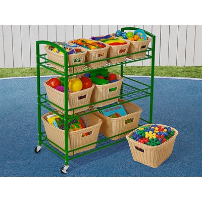 Outdoor Classroom Cart With Cover