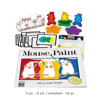 Mouse Paint Activity Kit