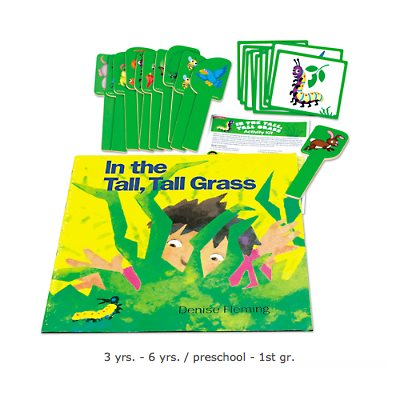 In The Tall, Tall Grass Activity Kit
