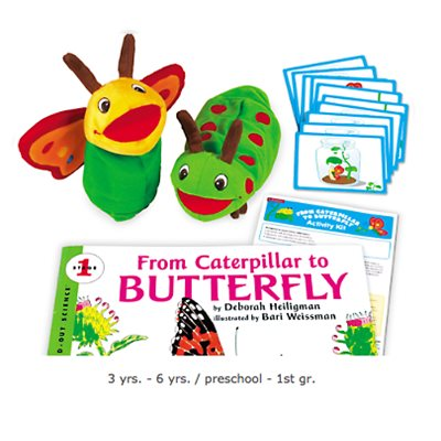 From Caterpillar-Butterfly Activity Kit