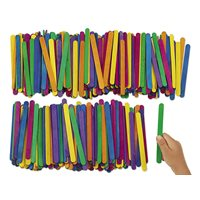 Coloured Craft Sticks - Pack of 500