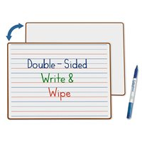 Double-Sided Learn To Print Write & Wipe Board