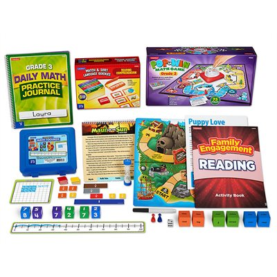 Learn & Play at Home Kit - Gr. 3
