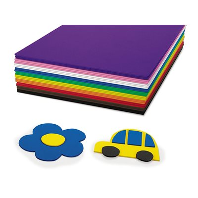Fun Foam Sheets Pack of 30 Pcs.