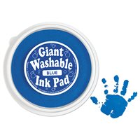 Giant Washable Colour Ink Pad-Blue