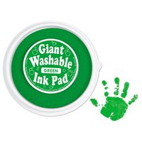 Giant Washable Colour Ink Pad - Green