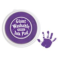 Giant Washable Colour Ink Pad - Purple