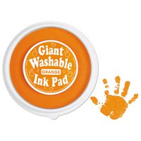 Giant Washable Colour Ink Pad - Orange