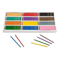 Best-Buy Coloured Pencils - Classpack