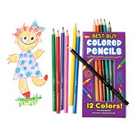 Best-Buy Coloured Pencils - Pack of 12