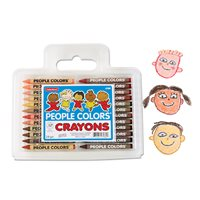 People Colours® Crayons - Dozen Sets