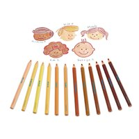 People Colours Jumbo Pencils-Set of 12