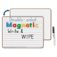 Double-Sided Magnetic Write & Wipe Board