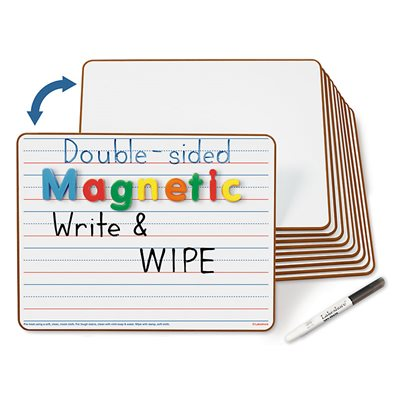 Double-Sided Magnetic Board - Set of 10
