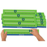 Number Line Slider Boards - Set of 10