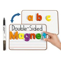 Double-Sided Magnetic Write & Wipe Mini Board