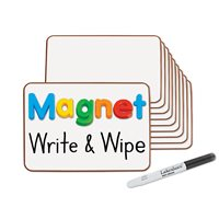 Magnetic Write & Wipe Mini Boards - Set of 10