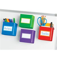 Magnetic Storage Boxes - Set of 4