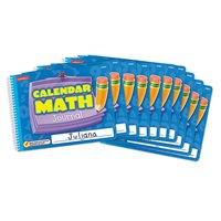 Calendar Math Journal - Set of 10