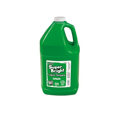 Bright Liquid Tempera 1 Gallon - Green