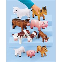 Soft & Squeezy Farm Animals