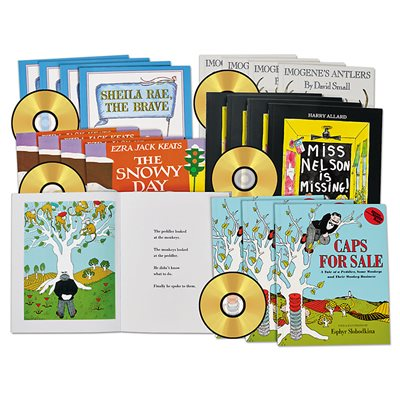 Favourite Picture Book CD Read-Alongs - Set 3