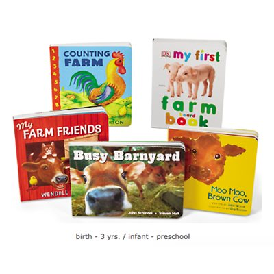 Book Board Library - On The Farm