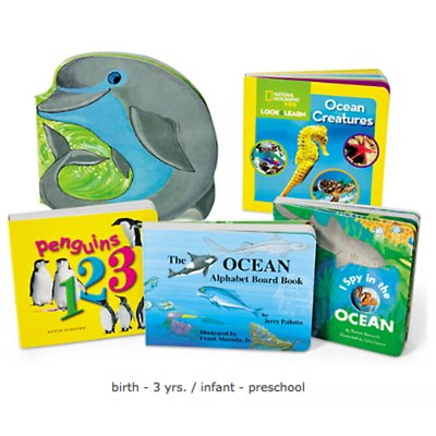 Book Board Library - Ocean Animals